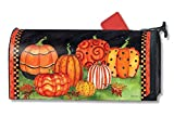 MailWraps Painted Pumpkins Mailbox Cover #01216