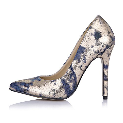 chaussures sur noir ressort des Gold talon nocturne bien de intéressant chaussures points très rouge Nouveau la cliquez sauvage les vie Blue fUqCwad
