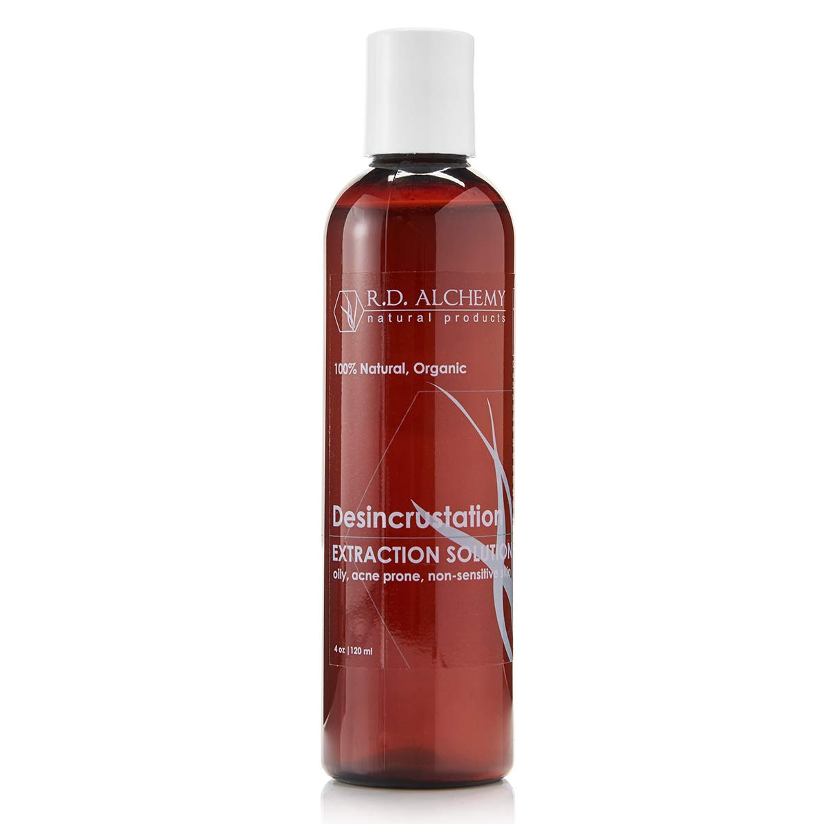 Desincrustation Solution/Scaling Fluid to help open pores, remove blackheads and to make extractions easier. For use by everyone including professionals & Estheticians by RD Alchemy Natural Products