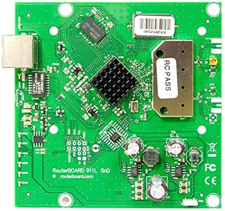 MikroTik RB911-5Hn RouterBOARD RB911 Lite5 5GHz Integrated Wireless Card OSL3
