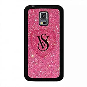 Luxury Brand Logo Funda Cover For Samsung Galaxy S5Mini Funda Victoria'S Secret VS Pink Skin Funda