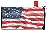 Briarwood Lane American Flag Waving Large Mailbox Cover Patriotic USA Oversized