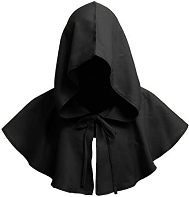 Beotyshow Mens Renaissance Costume Cloak Adult Outfit Cosplay Halloween Robe Coat SCA LARP Men