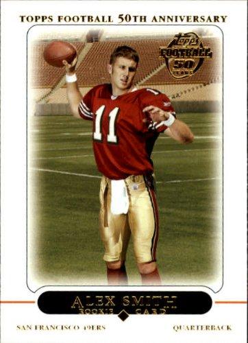 (2005 Topps Football Rookie Card #435 Alex Smith )