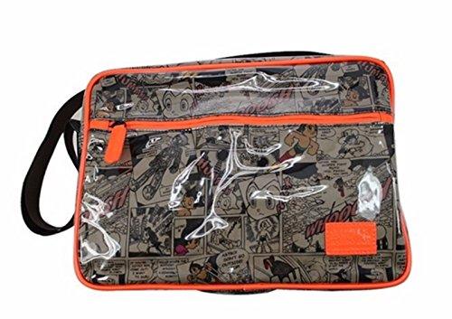 rare Schultertasche Tasche Shoulder Bag Rucksack reisetaschen Orange Hinzufügen AstroBoy new