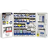 206-Piece Medical Kit w/Medications (Plastic) Ideal for Businesses or Work Sites