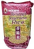 Brown Jasmine Rice (Hom Mali) - 4.4 Lbs (Pack of 1)