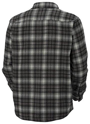 413f8fc2c3 Columbia Windward TM Overshirt, Men's Padded Shirt, Scacchi Nero ...