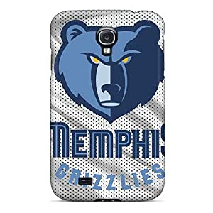 ColtonMorrill Samsung Galaxy S4 Shock Absorption Hard Phone Covers Support Personal Customs Beautiful Memphis Grizzlies Series [UtC14905pxPt]