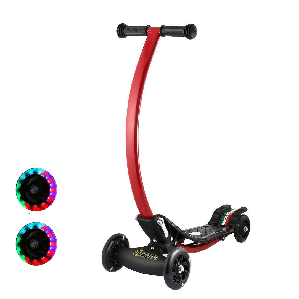 Homgrace Kinderroller Scooter Roller Klappbar 4 Wheel Stabil ...