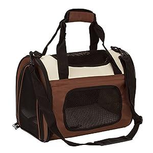 BabycarePro Plegable Transportín Gato para coche Portador Perro Elegante para avión Bolso de viaje para mascotas con…
