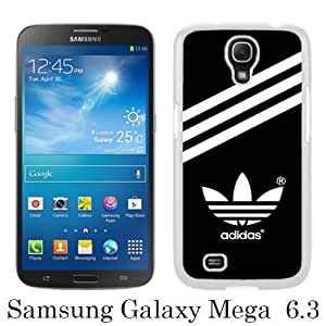 Beautiful And Unique Designed Case For Samsung Galaxy Mega 6.3 I9205 With Adidas 20 white Phone Case