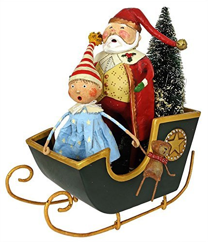 Lori Mitchell Christmas Collection Sleigh Ride with Santa
