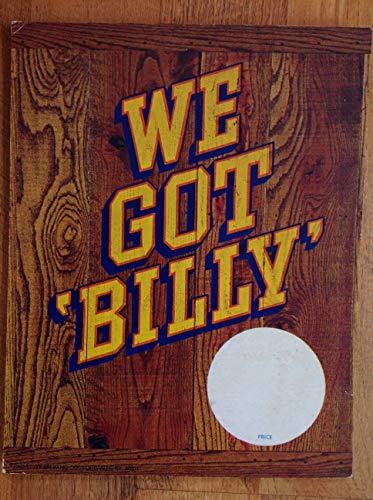 (We Got Billy Beer Countertop Advertisement Sign)