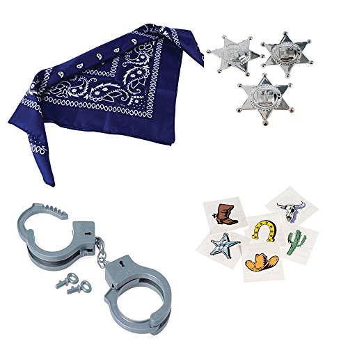 Cowboy Toy Supplies Bandanas Handcuffs product image