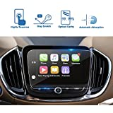 [UPGRADE] LFOTPP Chevrolet Volt Malibu Equinox 8 Inch MyLink Car Navigation Screen Protector, [9H] High Configuration Clear Tempered Glass Center Touch Screen Protector Anti Scratch High Clarity