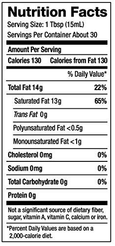 Nutiva Organic, Cold-Pressed, Unrefined, Virgin Coconut Oil from Fresh, non-GMO, Sustainably Farmed Coconuts, 15-ounce by Nutiva (Image #1)