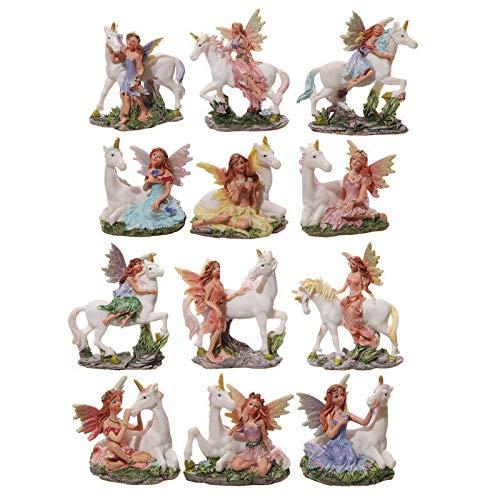 - Puckator Fairy and Unicorn World Figures - Beautiful Garden Home Decor - 1 Figurine