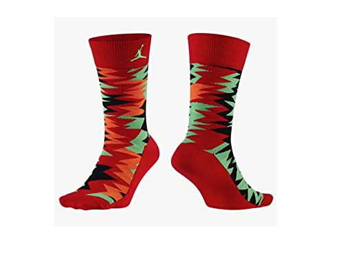 Jordan Nike Retro 7 Zapatillas Calcetines - 642211-657, Rojo ...