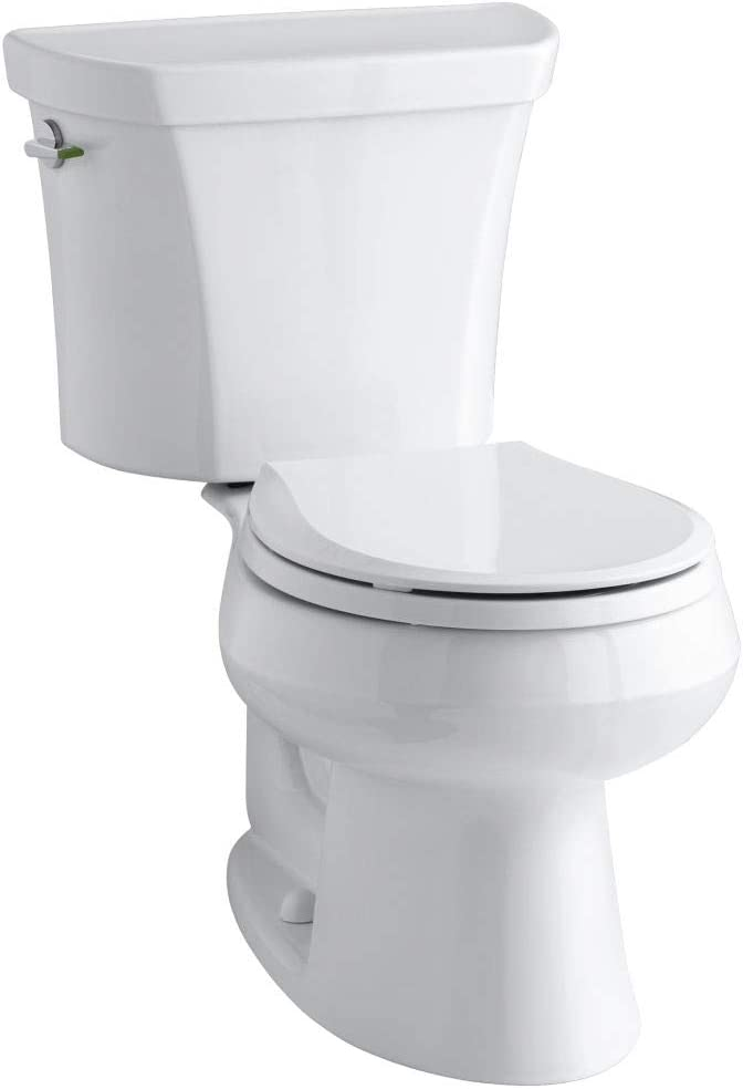 KOHLER K-3987-0 Wellworth Two-Piece Round-Front