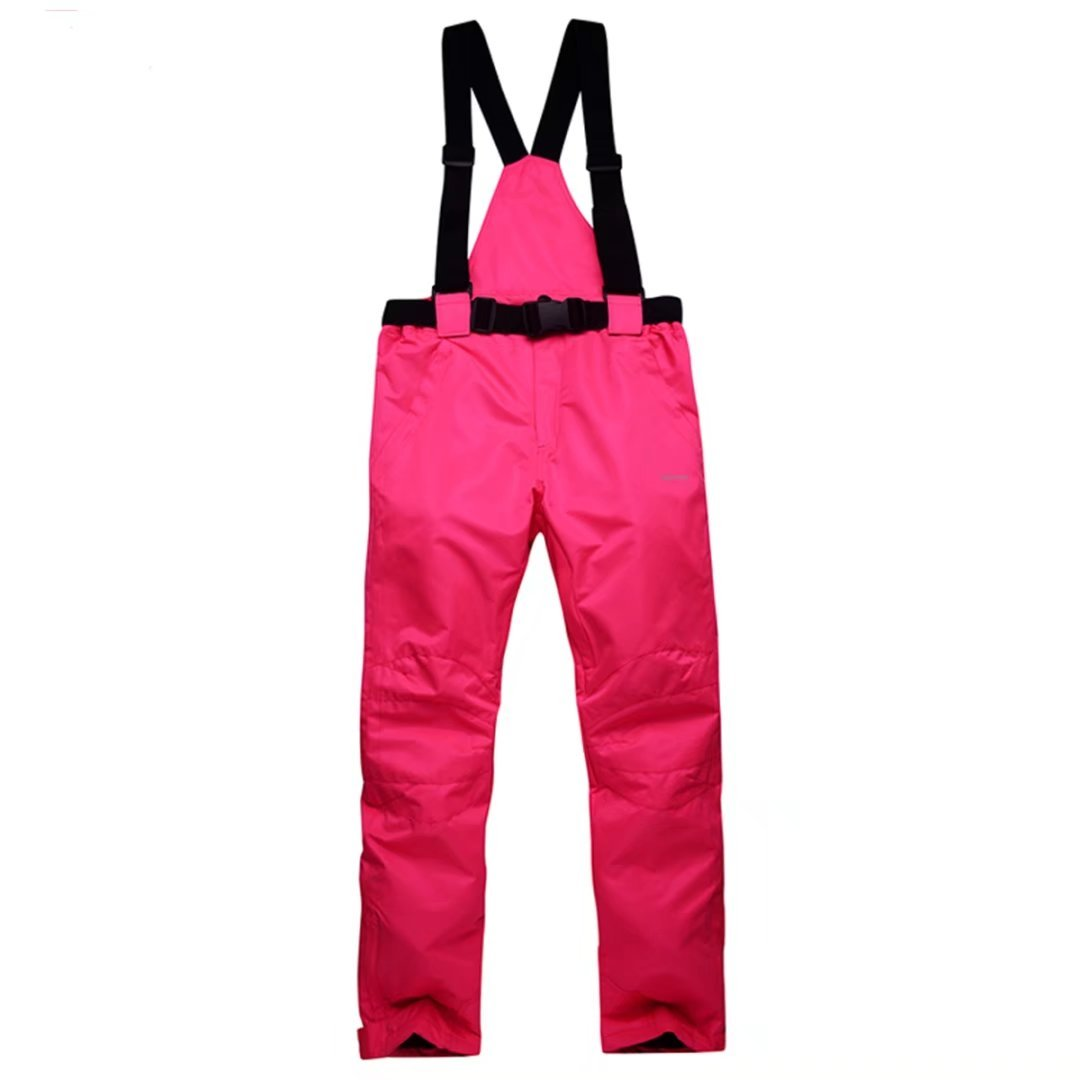OLEK Women's High Windproof Waterproof Bright Color Ski Snowboarding Pants