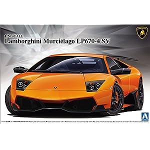 Aoshima - Lamborghini Murcielago LP670-4 SV
