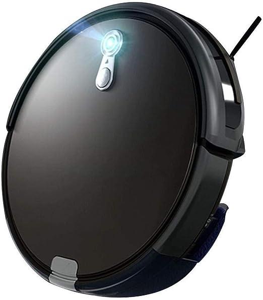 Aspirador robot Silencio Oficina del robot de barrido automático inteligente Hoover aspirador de la robusteza grande Inicio barredora de aspiración (Color: Negro, tamaño: 31 * 31 * 7.4cm): Amazon.es: Hogar