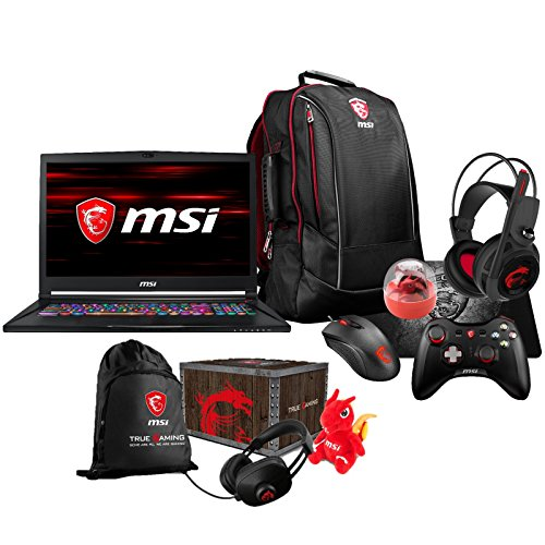 "Price comparison product image MSI GS73 STEALTH-014 (i7-8750H,  32GB RAM,  1TB SATA SSD + 2TB HDD,  NVIDIA GTX 1070 8GB,  17.3"" 4K UHD,  Windows 10 Pro) VR Ready Gaming Notebook"