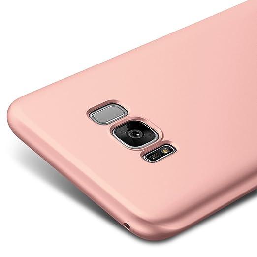 35 opinioni per Oro Rosa Ultra Sottile Custodia Cover Case Per Samsung Galaxy S8+ / S8 Plus 6,2