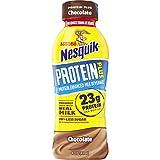 Nesquik Protein Plus Chocolate Flavored Low Fat Milk, 14 fl oz