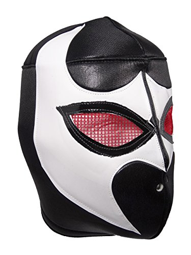 BLACK VIPER Adult Lucha Libre Wrestling Mask (pro-fit) Costume Wear - -