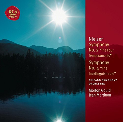Free Nielsen Symphony No.2 - The Four Temperments, Symphony No. 4 -Inextinguishable