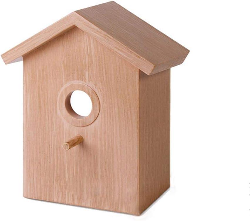Millster Caja de manualidades para niños manualidades para niños y artes - Comedero de pájaros exquisito al aire libre - con ventosa innovadora jaula de nido de pájaros