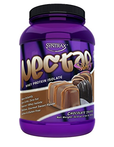 Syntrax Nectar Whey Protein Isolate Powder Chocolate Truffle -- 2.12 lbs