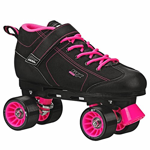 Pacer GTX 500 Roller Skates Black and Pink Men 6 Ladies 7