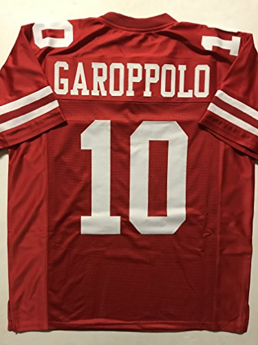 Unsigned Jimmy Garoppolo San Francisco Red Custom Stitched Football Jersey Size Mens Xl New No Brands Logos