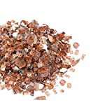 Mr. Fireglass 1/2″ Reflective Fire Glass with Fireplace and Fire Pit, 10 lb, Copper