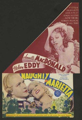 Naughty Marietta Movie Poster (11 x 17 Inches - 28cm x 44cm) (1935) Style C -(Jeanette MacDonald)(Nelson Eddy)(Frank Morgan)(Elsa Lanchester)(Douglass Dumbrille)(Cecilia Parker) Nelson Eddy Films