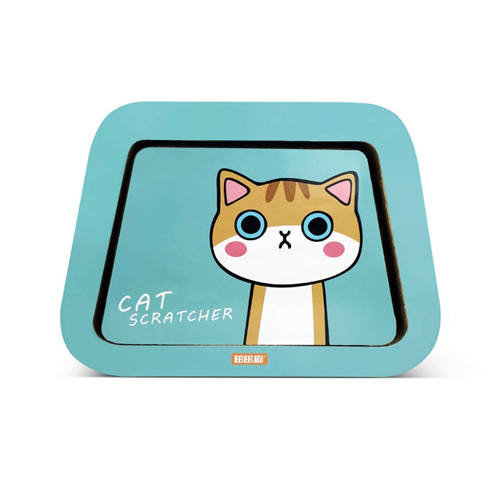 CXQ Cute Creative Garden Cat Cartoon Combination Corrugated Paper Cat House Cat Tent Cat Scratch Board Cat Litter Cat Sofa Toy