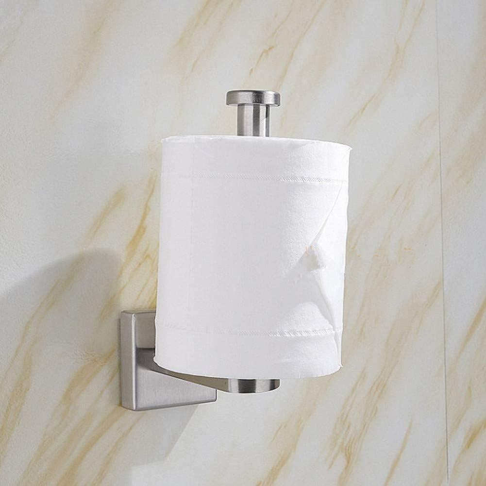 Chunnron Distributeur Papier Toilette Devidoir Essuie Tout Mural Porte Serviette En Papier Pour La Cuisine Rouleaux De Papier Toilette Titulaire 26 7cm Nexusfn Com Br