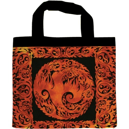 Phoenix Fire Tote Bag, Bags Central