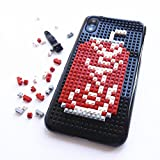 iPhone 6s Plus Case, iPhone 6 Plus Case, DMaos Cute Cartoon 3D DIY Mini Building Blocks Set Toy for Kids Creative Ability, Cool for iPhone 6+ 6s+ 5.5 inch - Cola