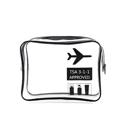 1PC TSA Aprobado Neceser con Cremallera De La Bolsa De ...