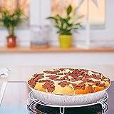 Disposable Pie Tins, Beasea 50 Pack 6 Inch Tin Tart Pans Aluminum Foil Mini Pie Pans Tins Plates Baking Foil Pans for Pies Tart Quiche