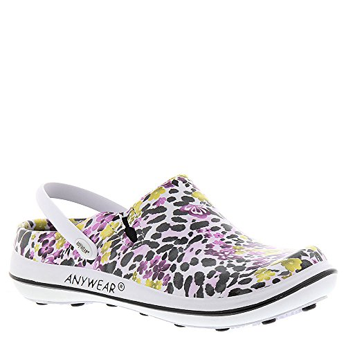 cheap best store to get cheap amazon Anywear Women's Alexis Work Shoe Sun-black-purple-floral online cheap price cheap sale cost under $60 for sale 5s3PAE6