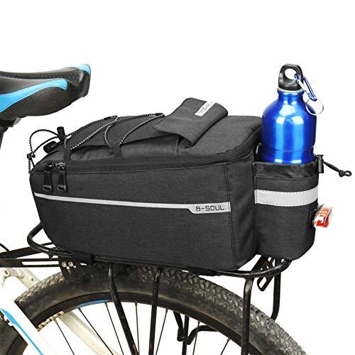 Ehinew Bike Rack Bag,Bike Saddle Bags for Rear Rack,Bike Trunk Bag,MTB Bike Pannier Bags with Adjustable Mounting Straps…