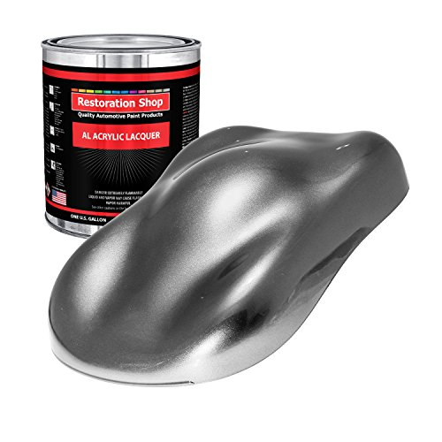 Restoration Shop - Gallon ONLY - Titanium Gray Metallic Acrylic Lacquer Single Stage Car Auto Paint