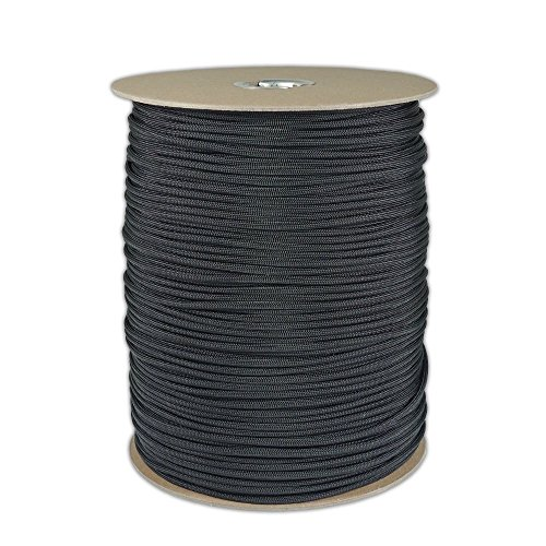 SGT KNOTS Paracord, 1000', Black