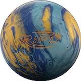 Hammer RIP'D Pearl Bowling Ball Blue/Gold/Light Blue, 15
