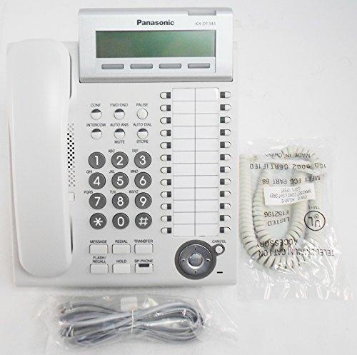 Panasonic KX-DT343 3-Line Backlit LCD Display Phone - (3 Line Backlit Lcd)